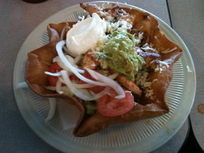 Taco Salad at El Arriero in Nacogdoches