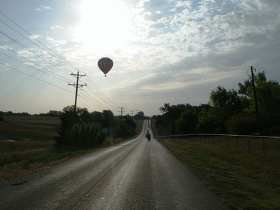 Very nice balloon view this morning.