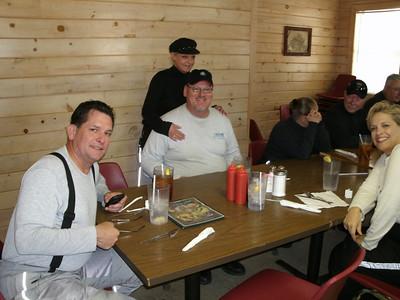 Lunch stop in Hochatown, OK.