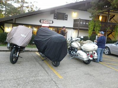 Arrival in Eureka Springs at the Bavarian Inn