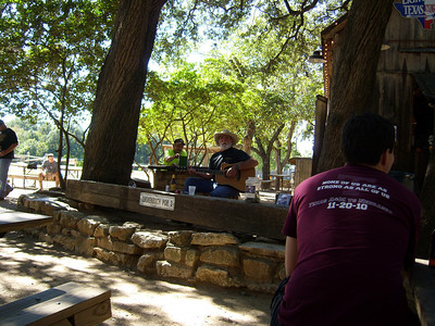 Jimmy Lee Jones in Luckenbach!