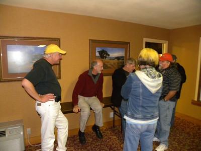 Paul McClure, Jordan, Bob Wilder, Donna, Mike Smith at the Ice Cream Social.