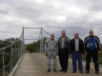 The 4 amigos!  Larry, Mark, Jeff, & Bob.