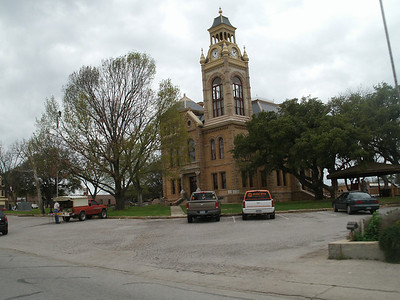 The courthouse in Llano