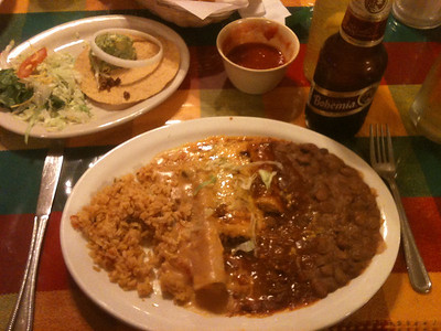 Great food in Brady at Mi Familia