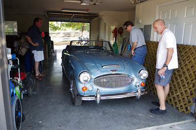 Doug's Austin Healey 3000 is a beauty.