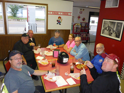 Marty, Rex, Dennis, Ron, Sheryl, Gary, Butch, and Lance in Chadron, NE.
