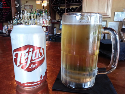 The Big Bend Brewing Company in Alpine Texas makes Tejas Lager.  Great way to follow up a great ride!