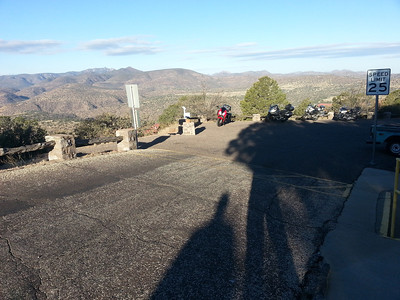 The top of the McDonald Observatory.