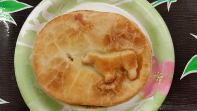 Cute Aussie Meat Pie.