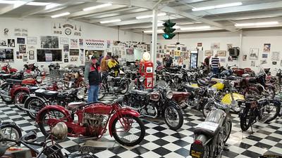 The Lone Star Motorcycle Museum near Vanderpool.