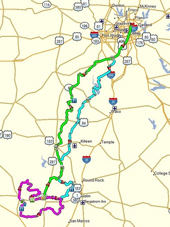 Good looking route for 3 days of riding