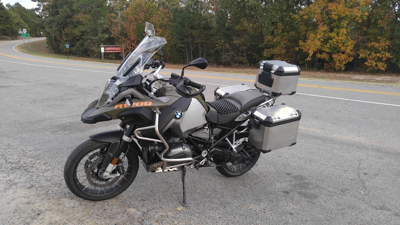 2015 BMW R1200GS Adventure.  From 8/2016 -  Present