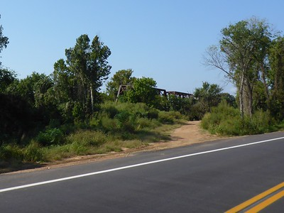 The old 1-lane Carpenters Bluff Bridge is now closed to traffic.