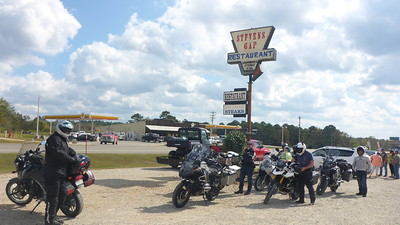 Lunch in  Hochatown, OK