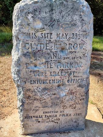 Bonnie & Clyde Ambush Site