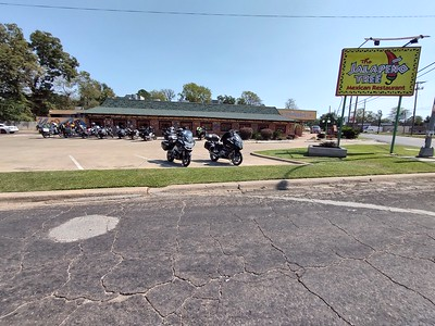 Lunch stop in Carthage