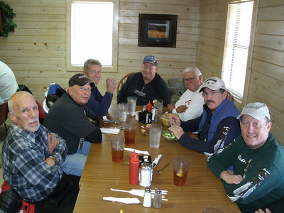 2009 Dying Leaf Ride.  Lunch stop in Hochatown, OK.