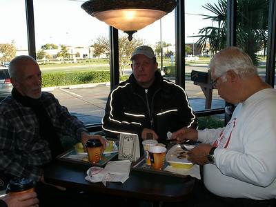 Breakfast at McD's before heading out on Saturday morning.