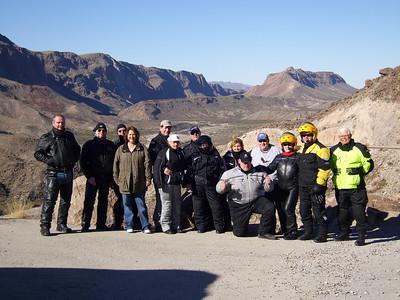 2009 Big Bend Ride.  The river road west of Lajitas.