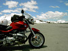Independence Pass, Colorado.  Here's a photo of the bike in front of the sign--the best I could do.