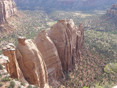 Colorado National Monument west of Grand Junction