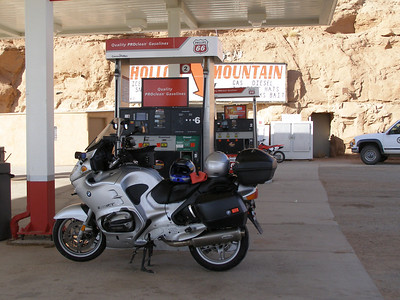 This gas stop in Hanksville UT proved to be a life saver after the Utah 1088 two years ago
