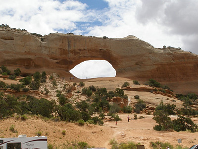 Wilson Arch US 191 just south of La Sal Jct