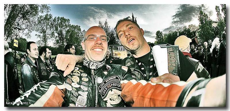 Insieme al mitico Walter Director del Chianti Chapter.<br /> Chianti Hills Bucine Maggio 2009