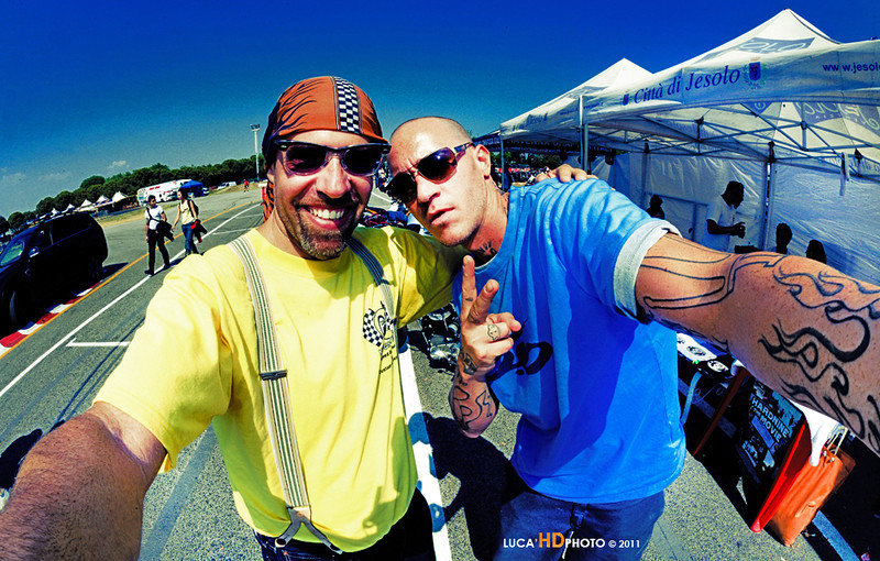 """Me and Hardnine, Jesolo 2011<br /> <br /> <a href=""""http://www.hardninechoppers.com/"""">http://www.hardninechoppers.com/</a>"""
