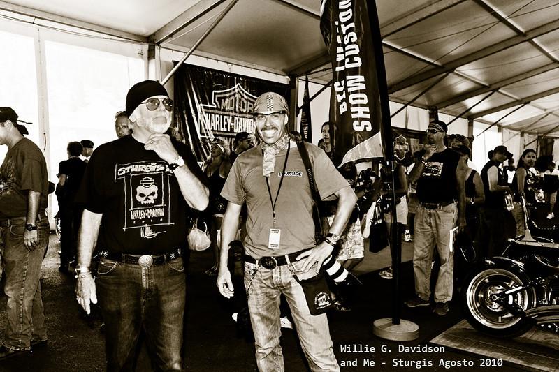 Willie G. Davidson and Me <br /> <br /> 70 Sturgis Rally Agosto 2010<br /> <br /> Foto cicci'HDphoto