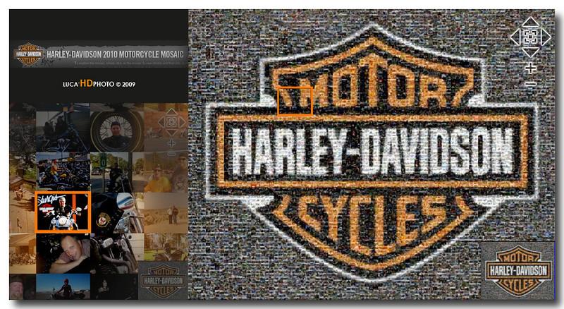 Harley-Davidson Mosaic 2010