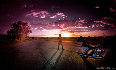 Me on the road...USA.  Foto cicci'HDphoto