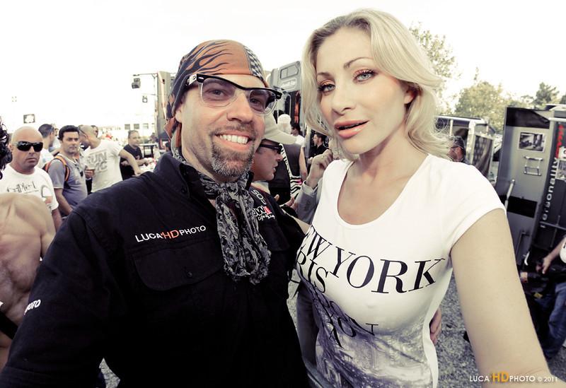 Me & Vittoria, BikerBikiniBenefit Cesenatico 6/2011
