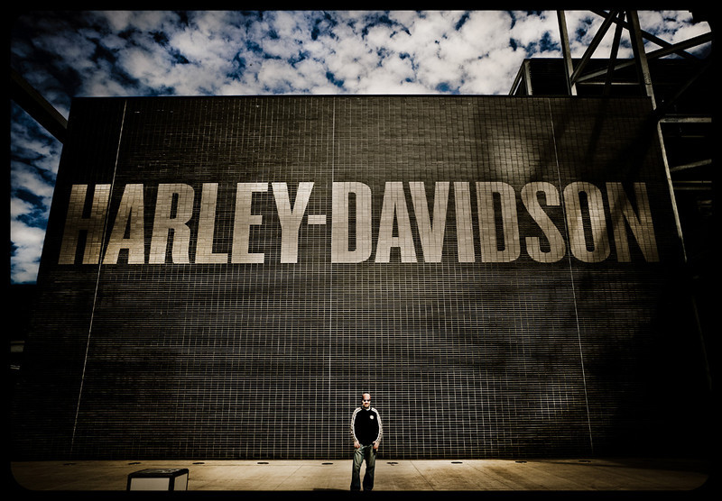 Me Harley-Davidson Museum Milwaukee, 08/2010<br /> <br /> Foto cicci'HDphoto