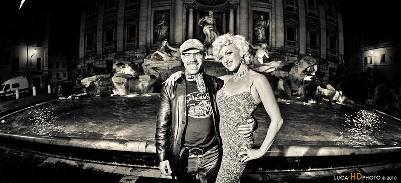 ME and KITTEN DE VILLE, Rome 10/2010<br /> <br /> Foto cicci'HDphoto