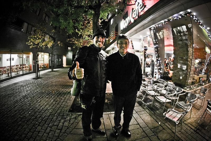 "Me and Shige ""The Boss Mooneyes"", Yokohama 12/2010<br /> <br /> Foto cicci'HDphoto"