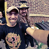 Me and Kevin Bean're, Indian Larry Block Party, Brooklyn 9/2011