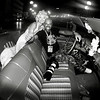 Insieme alla Monroe sulla Cadillac Impala, Agosto 2009