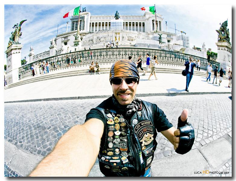 Piazza Venezia VI RUN DELLA CAPITALE, Luglio 2009