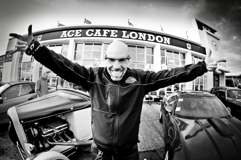 Me, Ace Cafè London, 10/2011<br /> <br /> Foto cicci'HDphoto