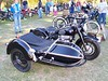 A nice Sunbeam with sidecar.