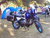 Nice custom BMW R100GS-PD with custom anodized wheel rims and other miscellaneous parts.