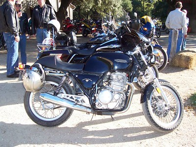 I've always had a sweet spot for the nifty little Honda GB 500s!