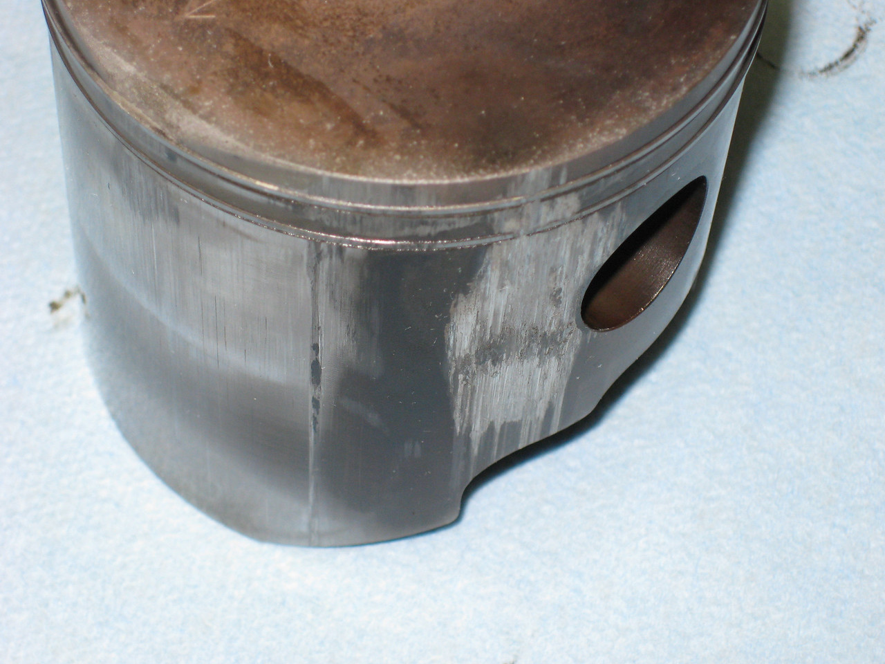 Piston and rings