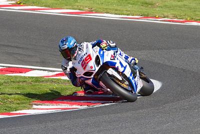 99 P J Jacobsen, Suzuki 1000, Tyco Suzuki, Britten's, MCE Superbike race 2.