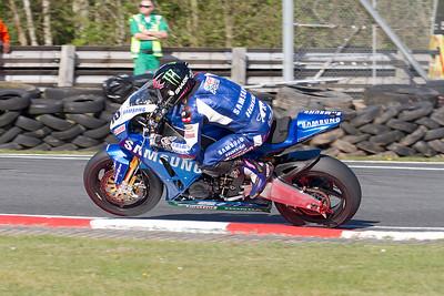 22 Sam Lowes, Honda 1000, Samsung Honda, Britten's, MCE Superbike race 2.