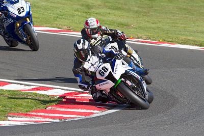 68 Karl Harris, Kawasaki 1000, PR Racing Kawasaki, Britten's, MCE British Superbike race 2.