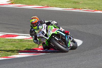 9 Chris Walker, Kawasaki 1000, Quattro Plant Kawasaki, Britten's, MCE Superbike race 2.