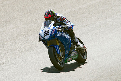 22 Alex Lowes, Honda 1000, Samsung Honda, Knickerbrook, MCE Superbike race 1.